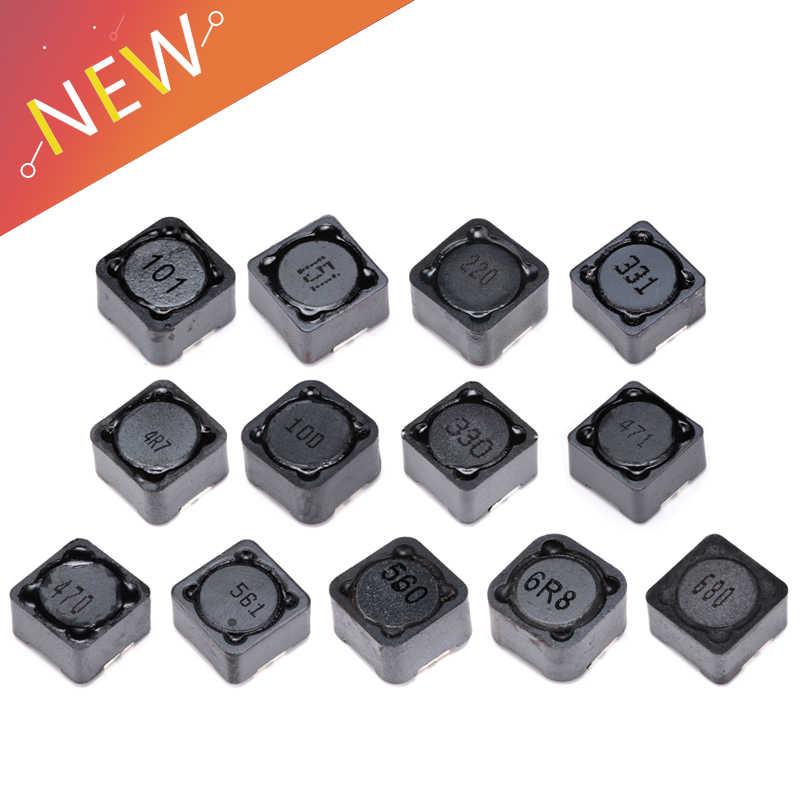10pcs CD127 100uH 101 blindé Inducteur SMD Power inductances 12x12x7mm