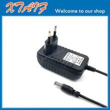 คุณภาพสูง 6.5 V 600mA 6.5 V 0.6A แหล่งจ่ายไฟ AC DC Adapter 5.5 * 2.1mm   5.5 * 2.5mm EU/US/UK PLUG