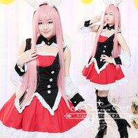 Comic Mondaiji Tachi Ga Isekai Kara Kuru Sou Desu Yo Kurousagi Costume Cosplay Dress Bunny Girl No Name Black Rabbit Hair Band