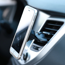 Magnetic Car CD Slot Phone Holder Air Vent Mount Support For iPhone 6 6S 7 8 X Huawei Xiaomi mi8 Universal Cellphone Accessories