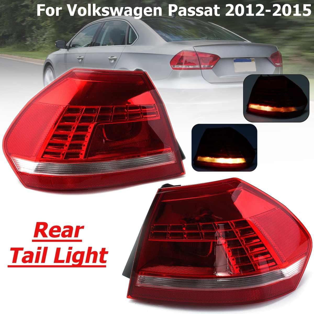 Pour Volkswagen Passat B7 2012 2013 2014 2015 feu de freinage halogène feu de pare-chocs arrière feu stop feu de conduite 12318798