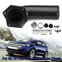 Exhaust Block Off Plate EGR Valve Cooler Delete Kit Intake Elbow 6.4L Powerstroke Diesel For Ford 2008 2009 2010