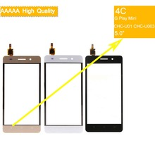 10Pcs/lot For Huawei Honor 4C G Play Mini CHC-U01 CHC-U003 Touch Screen Touch Panel Sensor Digitizer Front Glass Touchscreen недорого