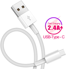 USB Type C Cable for Xiaomi Redmi Note 7 mi9 2.4A USB C Cable for Samsung S9 Fast Charging Wire USB-C Mobile Phone Charge Cord