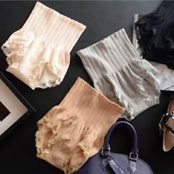Бесшовные Для женщин Корректирующее белье с высокой талией живот для похудения Управление Панталоны штаны трусики Корректирующее белье