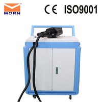 100 Watt laser cleaning machine handle automation rust removal machine for metal rust