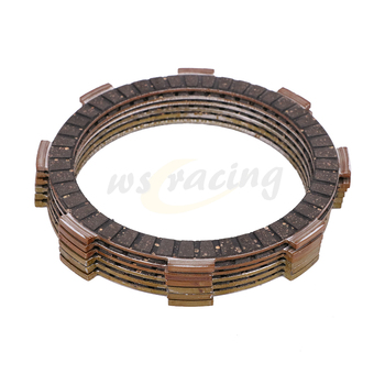 6 Pcs Motorcycle Engine Parts Clutch Friction Plates Fit For HONDA CR125R CRF150R CRF150RB CRF150RII CB250 CMX250C CMX250X image