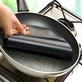 2 шт. кухонная посуда высокого качества сковорода вкладыш высокой температуры сковорода коврик антипригарная сковорода домашние кухонные ...