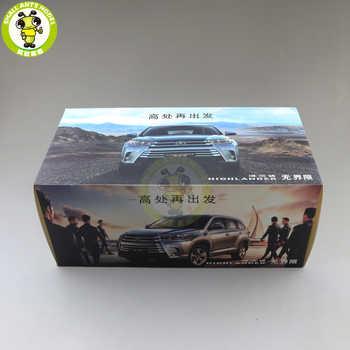 1/18 Highlander 2018 Diecast SUV Car Model Toys Kids Boy Girl Gifts Red