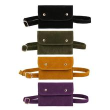 Scrub Leather Waist Fanny Packs Women Chest Shouder Pouch Phone Handbags