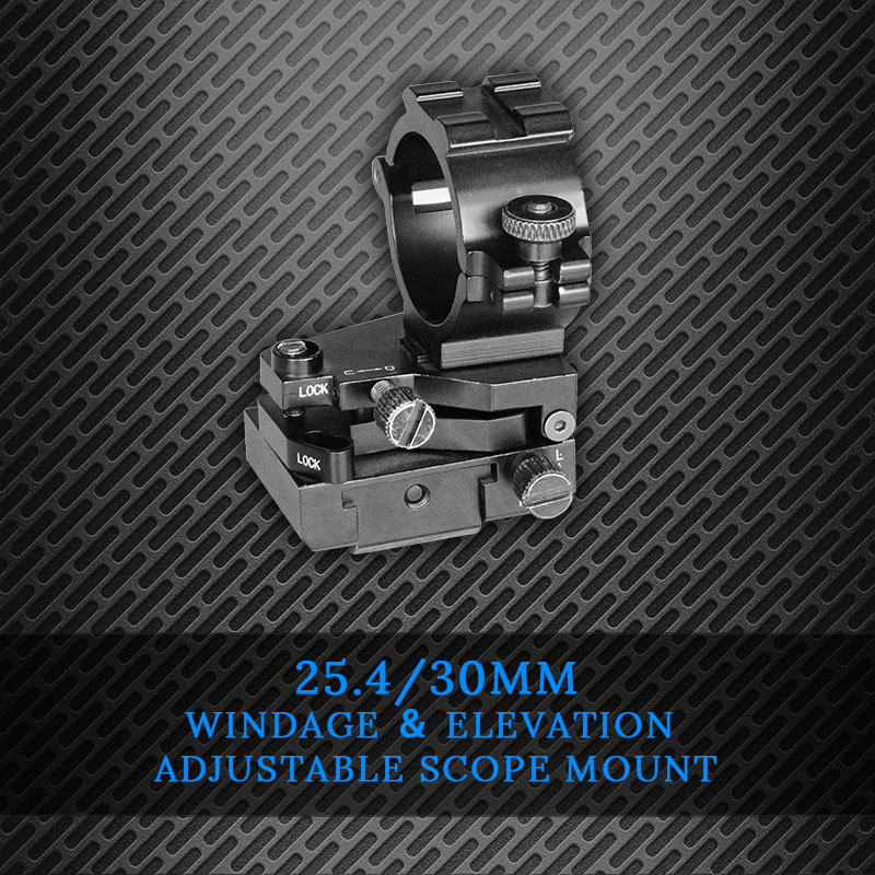 Hunting Adjustable Picatinny Rail Mounts For Scopes Weaver 21mm Airsoft M4 Scope Mount Rings 30mm Drop