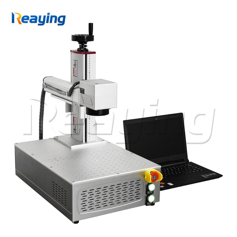 Machine portative de gravure d'anneau de bijoux de machine de marquage en métal de laser de fibre de 20 W 30 W 50 W mini