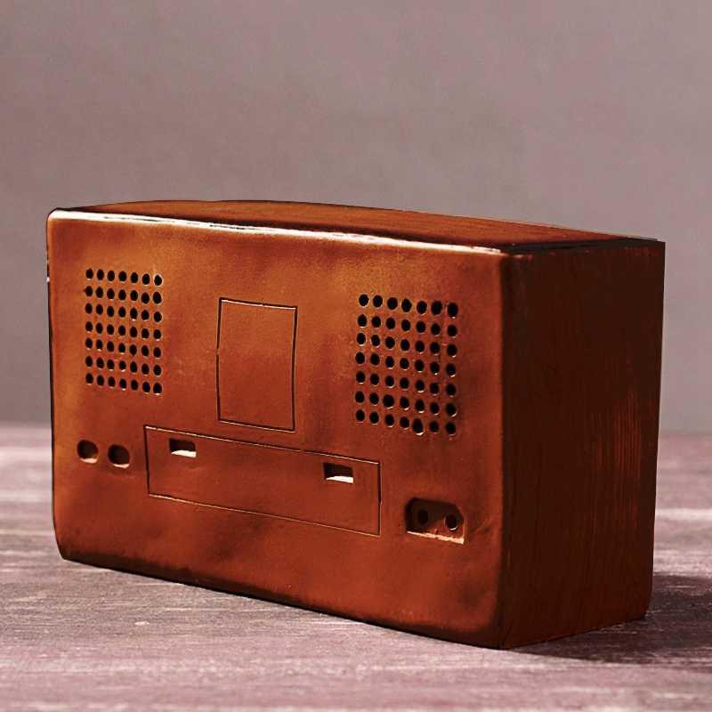 Стиль смолы радио модель Античная имитация ностальгия беспроводной украшения Ремесло бар домашний декор