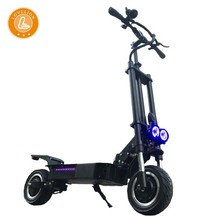 LOVELION Free shipping folding electric bicycle scooter with seat 3200W Strong Power charge adult electrico patinete e scooters