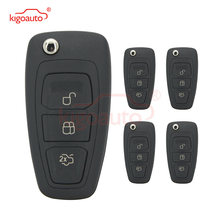 Kigoauto 5 шт 2036872 3 кнопки 434 МГц fsk 4d63 чип для ford