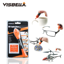 Buy Visbella 5 Second Fix Liquid Plastic Welding UV Light Cuting Glue Pen Kit , Repair and Seal Anything in 5 Seconds directly from merchant!