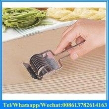 Мини из нержавеющей стали лапша инструмент для изготовления пасты для домашнего использования нажима руки и резки лапши резак