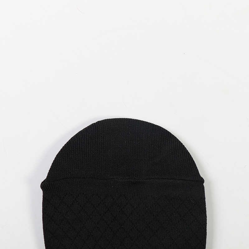 DONG AI puro padrão xadrez preto de nylon fina meias das mulheres no longo tubo quente e confortável ocasional quente venda
