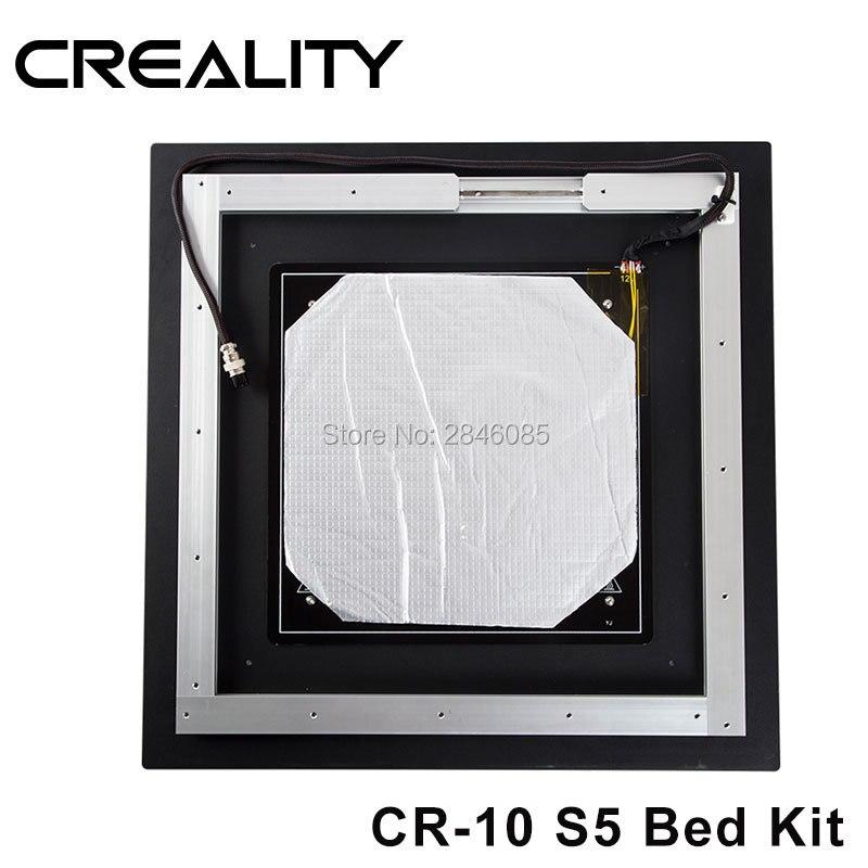 Freeshipping durch DHL/Fedex Neue Verbesserte Creality 3D heißer bett bord für CREALITY 3D Drucker CR-10 500*500 * 500mm 3d drucker
