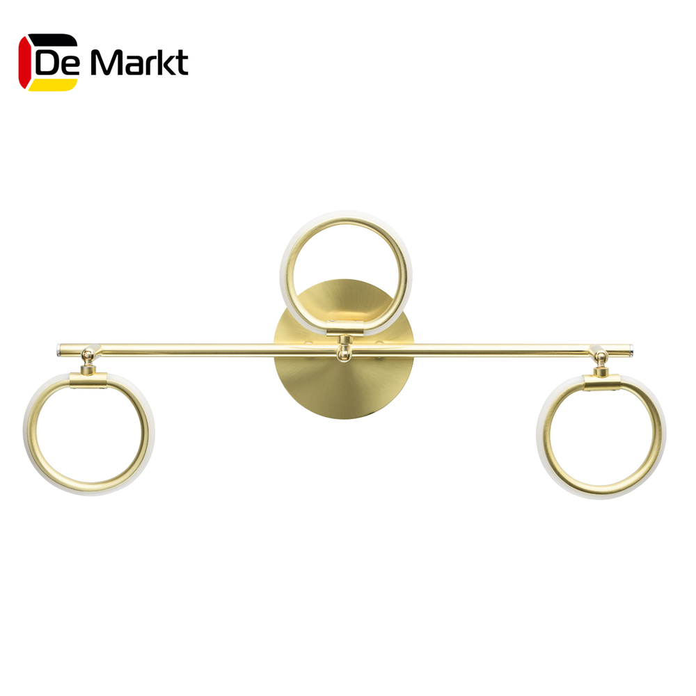 Wall Lamps De Markt 704024903 lamp Mounted On the Indoor Lighting Lights Chandelier spots chrome deck faucet package wall mounted
