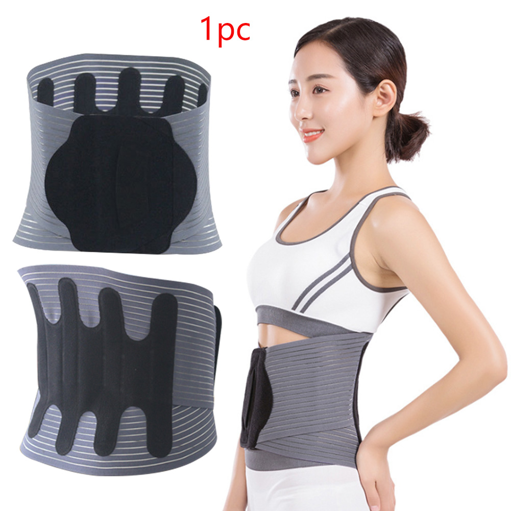 Adjustable Sport Accessories Back Support Brace Belt Women Lumbar Shapewear Therapy Waist Support For Gym