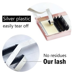 Image 2 - LAGEE J B C CC Curl custom Faux mink individual eyelash extension dlux natural soft cilia lashes extension for professionals