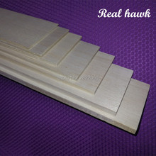 10pcs 1000x80x0.75/1/1.5/2/2.5/3/4/5mm AAA+ Model Balsa wood sheets for DIY RC model wooden plane boat material