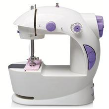 Electric Mini Sewing Machine For Home Hand Machine To Sew Speed Adjustment With Light Handheld Sewing Machine Quick Delivery how to machine sew