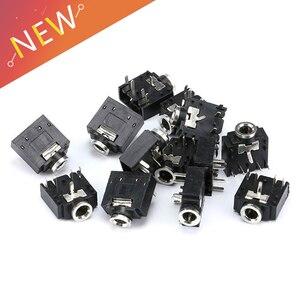 Лидер продаж, 10 шт., 5 штырьков, 3,5 мм, гнездо для аудио, стерео, разъем для штекера, разъем для аудио, PJ307, 3F07