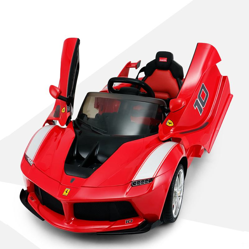 Special Price Children's Four-Wheel Electric Vehicle With Remote Control Kids Rechargeable Baby Car Kids Toy Car With Open Door