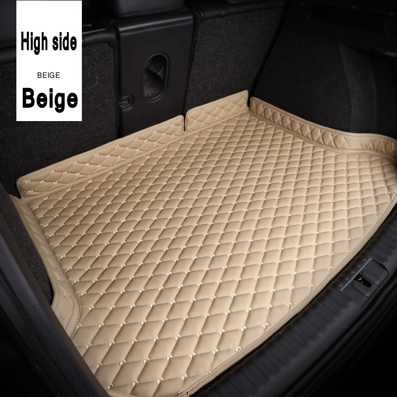 ZHAOYANHUA Car Trunk Mats Car Styling Carpet For  Citroen C2 C4L C5 Elysee C4 Aircross C-qurtre C4 Picasso DS4 DS5 DS5L DS6