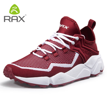Rax Men's Summer Running Shoes Outdoor Sports Sneakers for Women Breathable Gym Running Shoes Light Trekking Shoes Male Walking цены онлайн