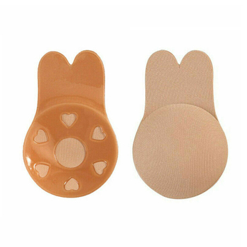 1 Pair Invisible Breast  Lift Tape Silicone Invisible Adhesive Nipple Cover Push Up Breast Underwear Accessories for Party Dress 1