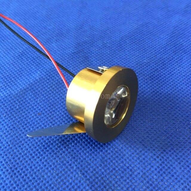 10pcs/lot  LED Mini Cabinet Downlight 1.5W diameter 31mm dc12V black Frame Recessed Ceiling No Flicker Spot Lights For Home
