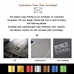 "Image 3 - 25pcs 180x125mm(7"" x 4.8"") Color Iridescent Paper Envelope 250gsm Thick Wedding Business Invitation Envelopes"