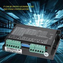 2DM542 4A Step Motor Driver Stepper Controller for CNC 57/60 Two-Phase Stepper Motor two phase stepper drive 2cm860 2cm525 2cm545 2cm560 2cm880 new original