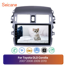 Seicane Android 8.1 2din Car Radio wifi Multimedia Player For Toyota Corolla E140/150 2008 2009 2010 2011 2012 2013 Stereo GPS(China)