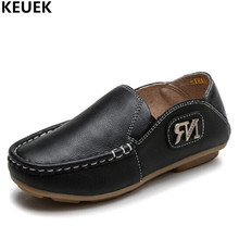 New Spring/Autumn Children Leather Shoes Boys Baby Genuine Leather Loafers Casual Shoes Student Kids Dress Shoes Flats 03 children kids boys leather shoes genuine leather shoes new black autumn boys school uniform dress shoes casual oxfords wide fit