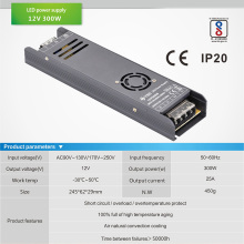 AC 100V-250V to DC 12V 25A 300W 24V 12.5A 29.1A 350W 14.5A 400W lighting transformer led driver