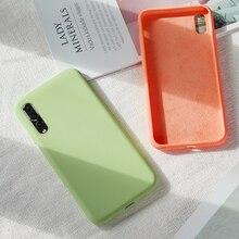Original Liquid Silicone Case For Huawei