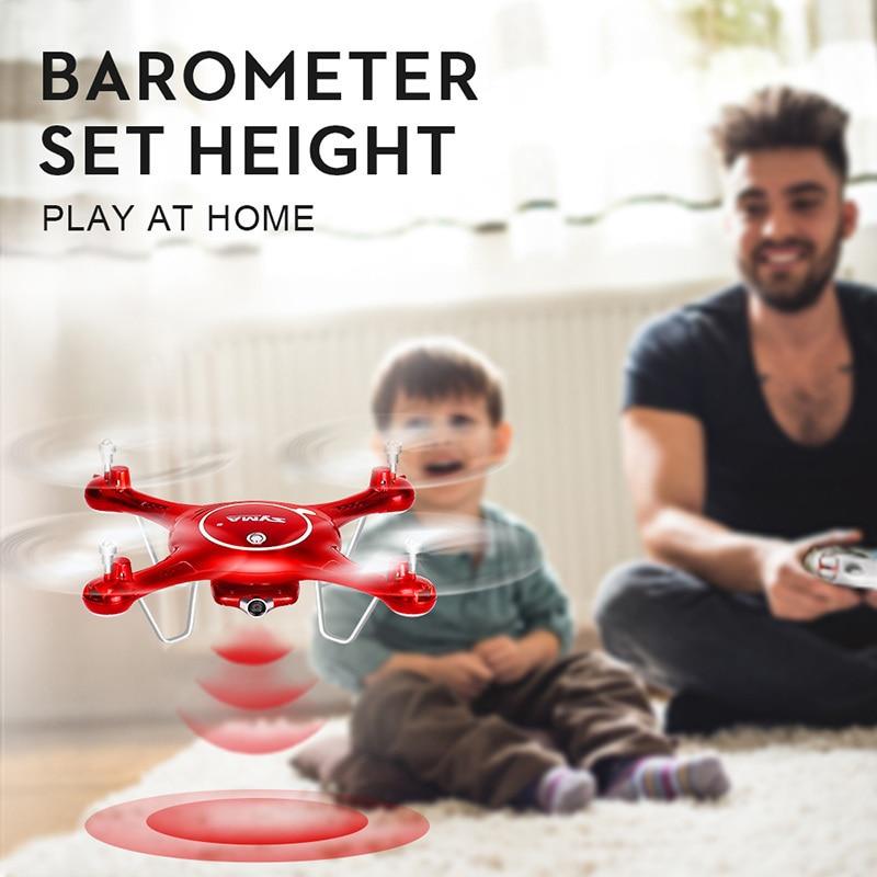 Drone Syma X5UW RC avec caméra WiFi 720P HD Transmission en temps réel FPV quadrirotor 2.4G 4CH hélicoptère Dron Quadrocopter ZLRC