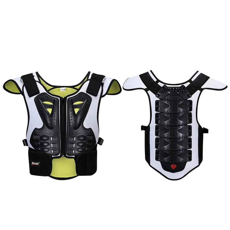 Ski Snowboard Back Chest Protector Gear Vest Back Support Motorcycle Body Protector Skateboard Ski Motorbike Protection Guard