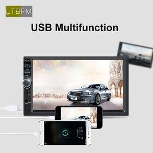 "Image 4 - LTBFM Touch Screen 2 Din Car Radio 7"" Car Stereo Radio Bluetooth Autoradio Multimedia Car MP5 Player Auto Audio FM USB Camera"