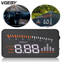 3 inch X5 HUD Head Up Display Car Auto HUD Head Up Display Speed Alarm OBD II Head-up Display OBD2 Interface for drivers' safety(China)