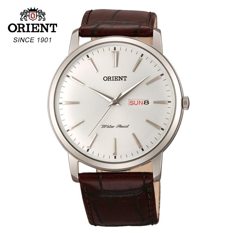 ORIENT montre-bracelet d'affaires affichage de la Date montre à Quartz pour hommes montre d'affaires montre homme horloge Relogio Masculino