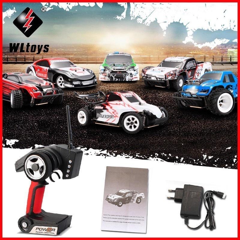 WLtoys 2.4G 4WD 30 kmh 1/28 Versão RTR Monstro De Controle Remoto de Rádio de Alta Velocidade Truck RC Carro de Drift K969 k979 K989 K999 P929 P939