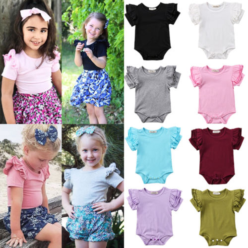 Lovely Toddler Infant Baby Girl   Romper   Jumpsuit Outfits Clothes Sunsuit Baby Cotton Clothes