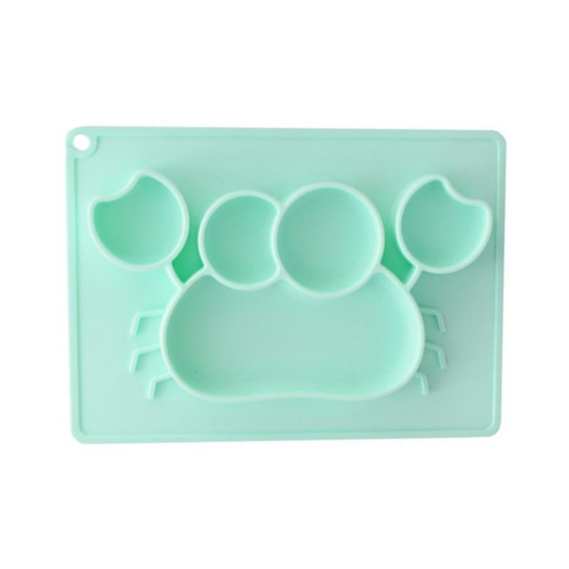 Baby Feeding Mat Toddlers Silicone Placemat Dishwasher