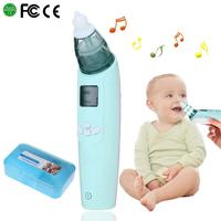 Baby Nasal Aspirator Electric Safe Hygienic Nose Cleaner With 2 Types Of Nose Tips And Oral Snot Sucker For Newborns Boy Girls