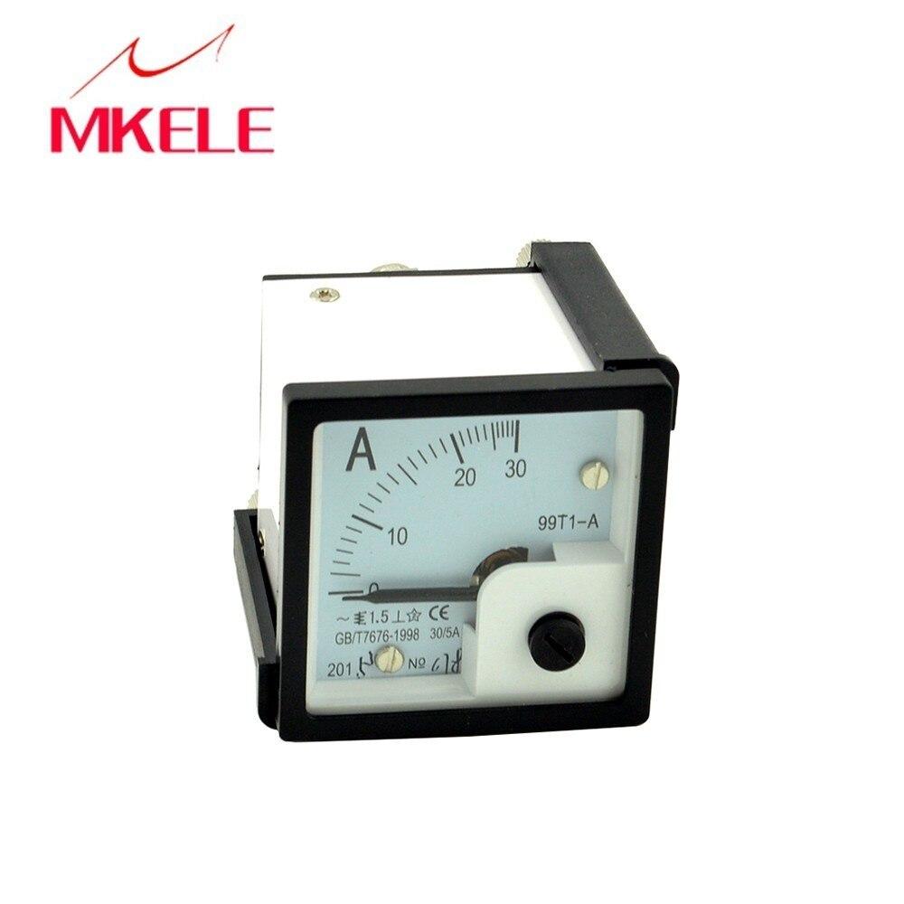 Recém chegados ac 99t1 (30) amperímetro durável atual amperímetro medidor ponteiro diagnóstico-ferramenta amperimetro ampermeter china